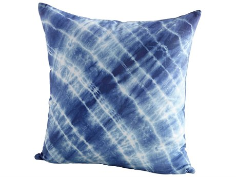 Cyan Design In the Water Blue 18'' Square Pillow