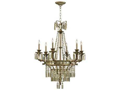 Cyan Design Buckngham St. Regis Bronze Six-Light 30 Wide Chandelier