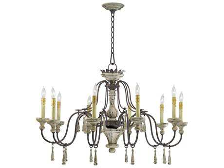 Cyan Design Provence Carriage House Ten-Light 36 Wide Chandelier