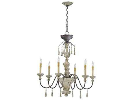 Cyan Design Provence Carriage House Six-Light 29 Wide Chandelier
