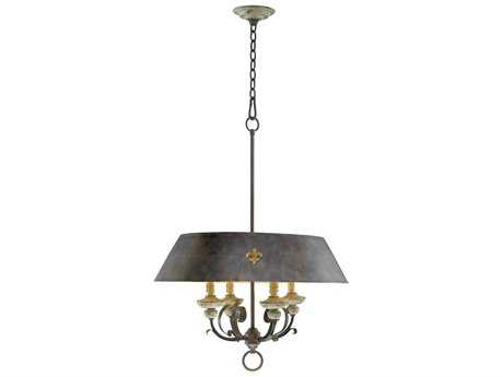 Cyan Design Provence Carriage House Four-Light Pendant