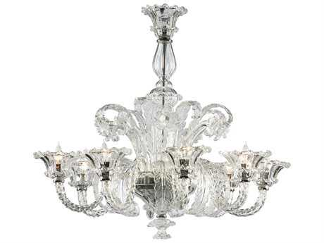 Cyan Design La Scala Chrome Eight-Light 35 Wide Grand Chandelier
