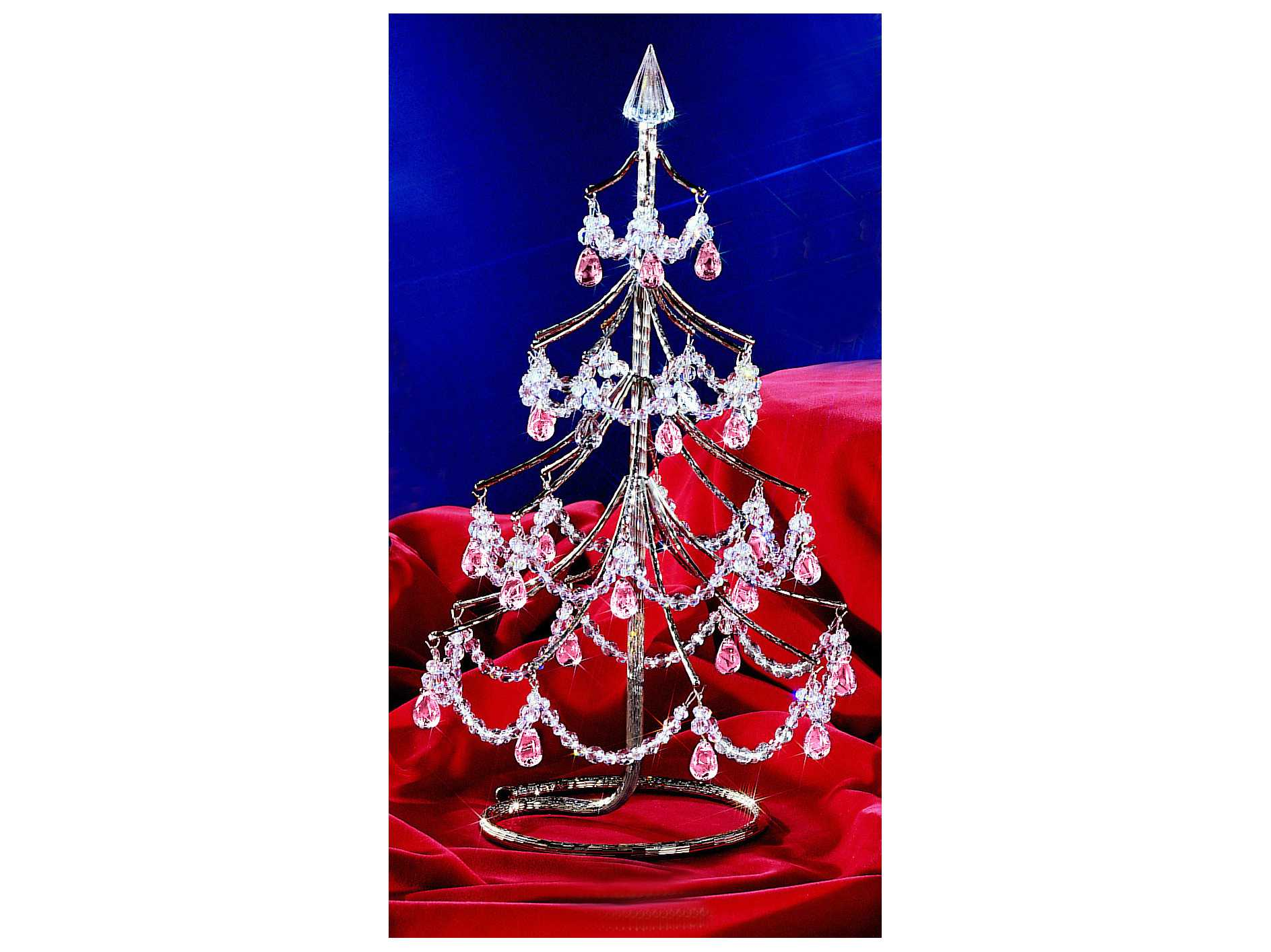 Classic Lighting Corporation Cheryls Chrome Christmas Tree