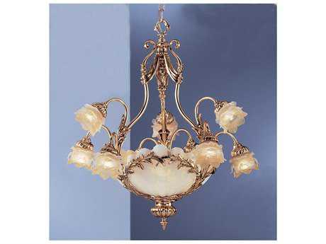 Classic Lighting Corporation La Paloma Satin Gold 12-Light 27 Wide Grand Chandelier