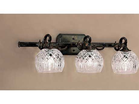 Classic Lighting Corporation Waterbury Oxidized Bronze Three-Light Vanity Light