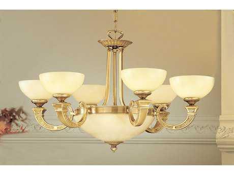 Classic Lighting Corporation Mallorca Antique Bronze Eight-Light 32 Wide Chandelier