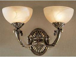 Classic Lighting Corporation Montego Bay Roman Bronze Two-Light Wall Sconce