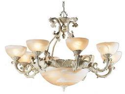 "Classic Lighting Corporation Montego Bay Sorrento 12-Light 38"" Wide Chandelier"