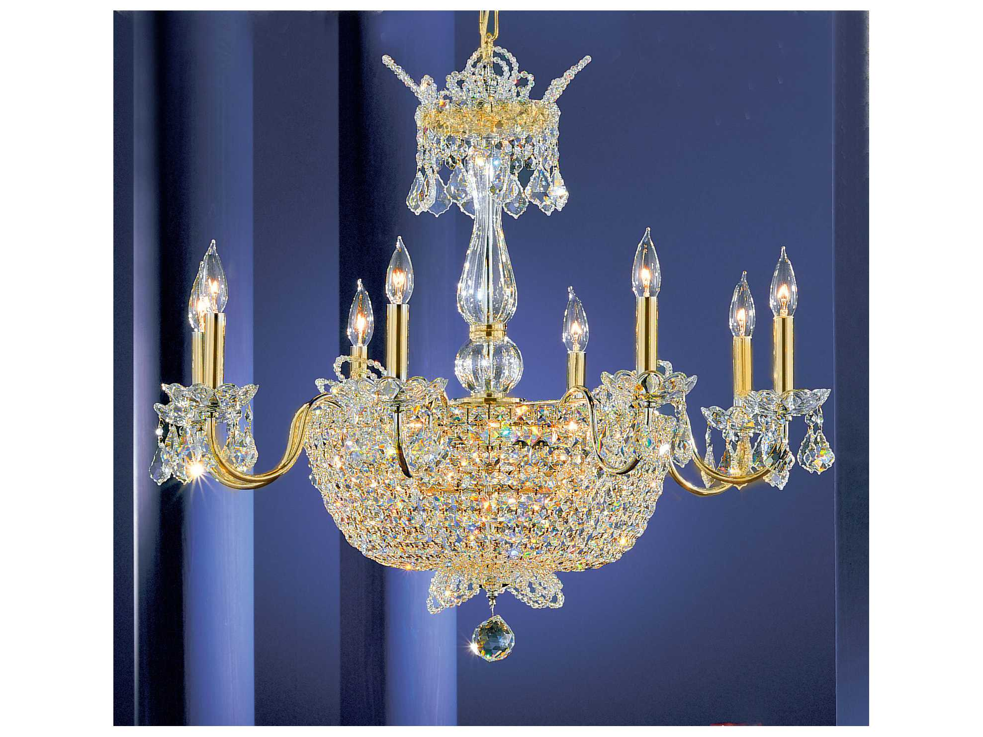 classic lighting corporation crown jewels 24 light 30 wide chandelier
