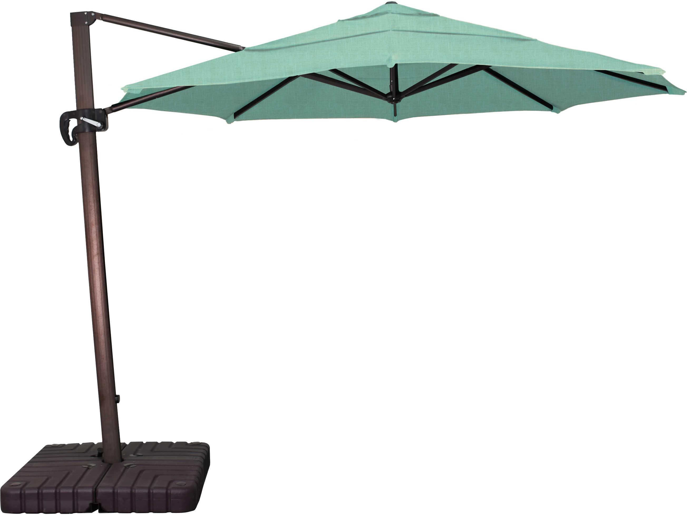 California Umbrella Cali Series 11 Foot Octagon Cantilever