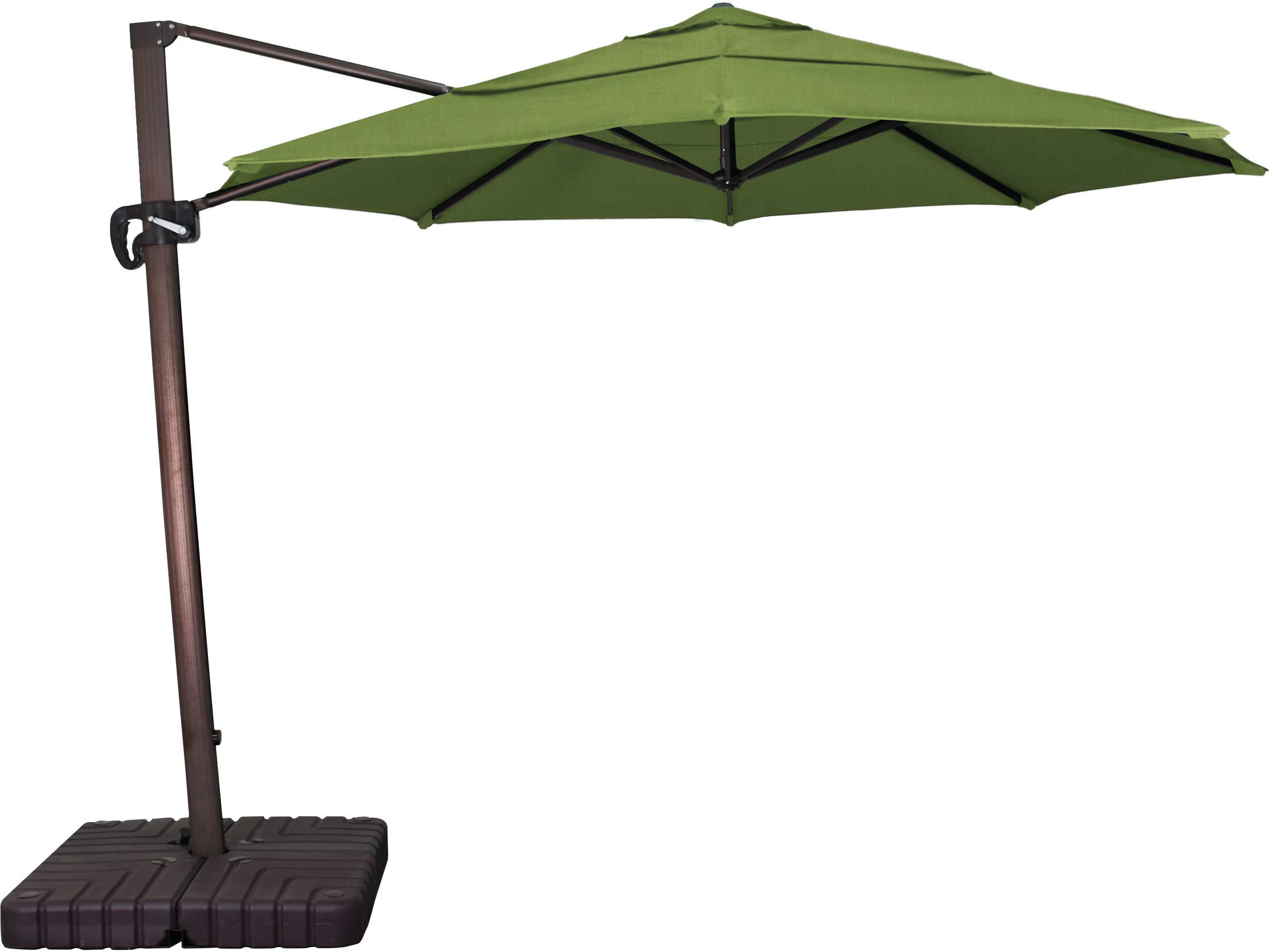California Umbrella Cali Series 11 Foot Octagon Cantilever