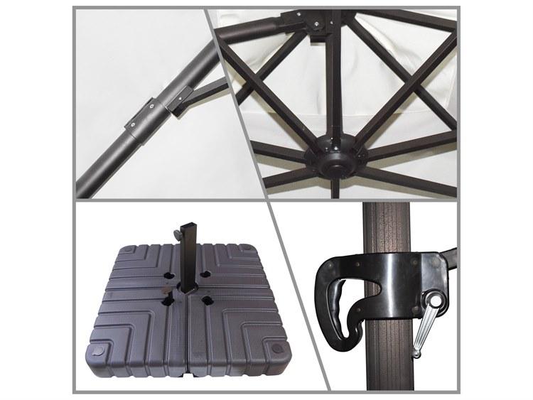 California Umbrella Cali Series 11 Foot Octagon Cantilever Aluminum