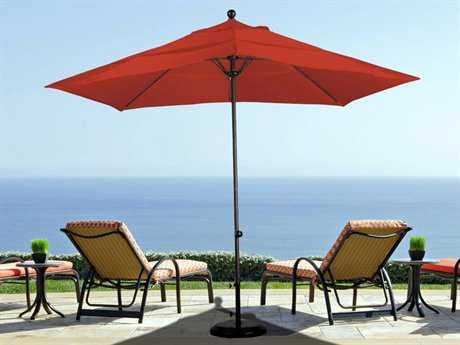 California Umbrella Ez Lift 11 Foot Round Aluminum Patio Umbrella