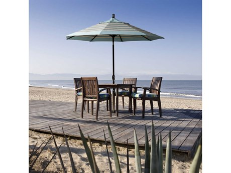 California Umbrella Pacific Trail Series 9 Foot Octagon Market Aluminum Umbrella with Crank Lift System CAGSPT908