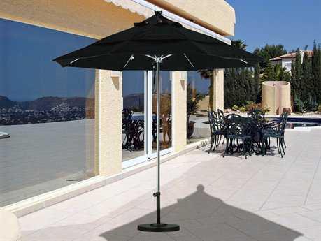 California Umbrella 9 Foot Round Stainless Steel Patio Umbrella