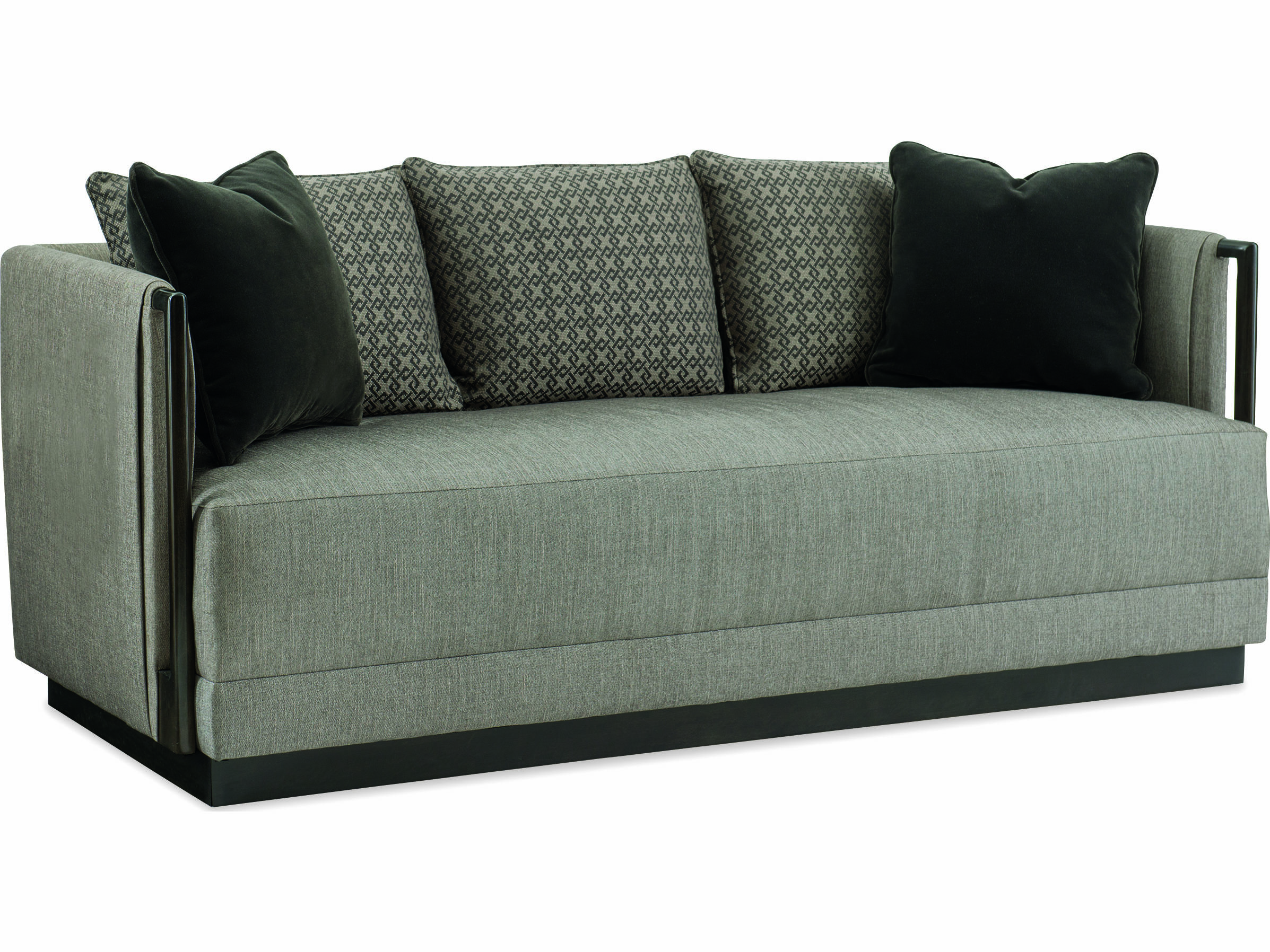Caracole Modern Uptown Graphite Sofa
