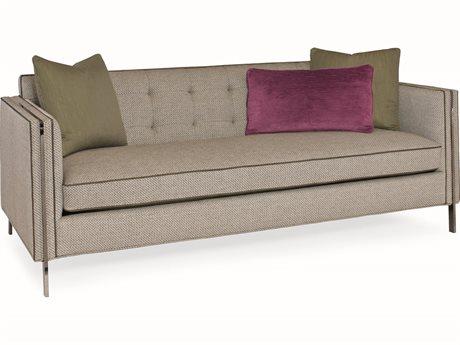 Caracole Modern Metro Gray Sofa