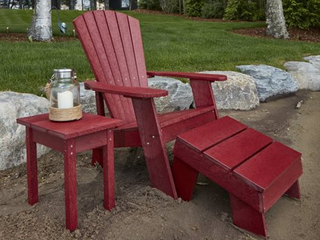 Captiva Casual Recycled Plastic Adirondack Set
