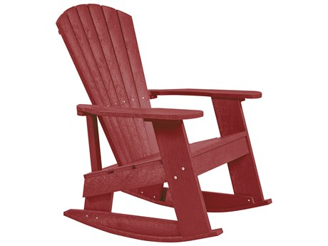 Captiva Casual Recycled Plastic Adirondack Rocker PatioLiving