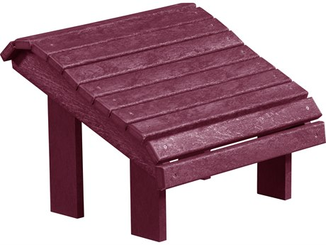 Captiva Casual Recycled Plastic Premium Footstool PatioLiving