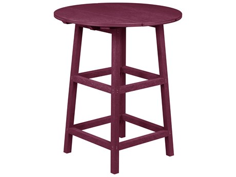 Captiva Casual 32 Round Pub Height Table with 37 Legs