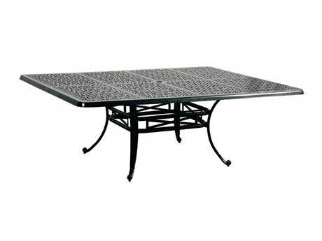Cast Classics Opus Cast Aluminum 42 x 29 Rectangular Coffee Table