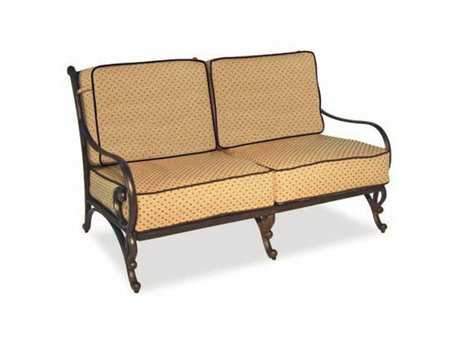 Cast Classics Deauville Ii Cast Aluminum Cushion Loveseat