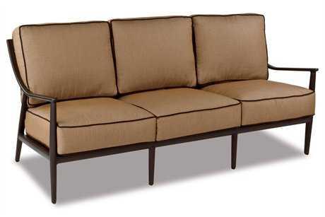 Cast Classics Sutton Cast Aluminum Cushion Sofa CC280826C