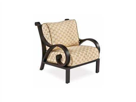 Cast Classics Georgetown Cast Aluminum Cushion Lounge Chair