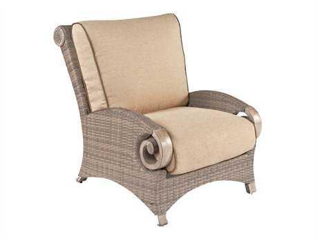 Cast Classics Grand Manor Wicker Cushion Club Chair