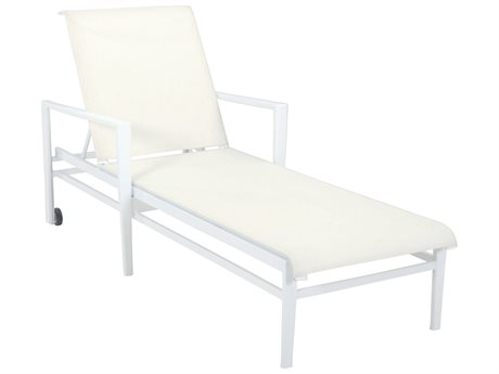 Cast Classics Vector Sling Cast Aluminum Chaise Lounge