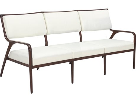 Cast Classics Presidio Cast Aluminum Cushion Sofa PatioLiving
