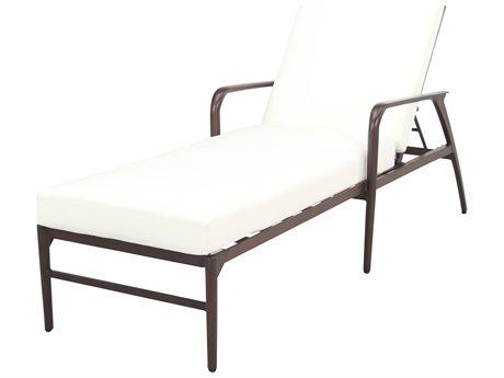 Cast Classics Presidio Cast Aluminum Chaise Lounge with Cushion