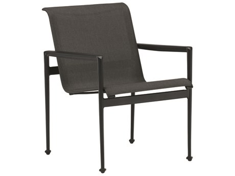 Cast Classics Continuum Sling Aluminum Dining Arm Chair