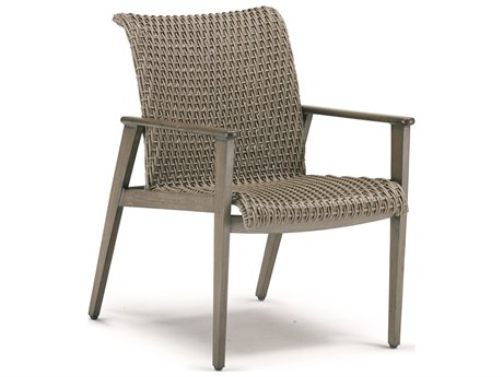 Cast Classics Fortuna Woven Wicker Dining Chair PatioLiving