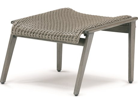 Cast Classics Fortuna Woven Wicker Ottoman PatioLiving
