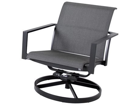 Cast Classics Coronado Sling Cast Aluminum Swivel Rocker Lounge Chair