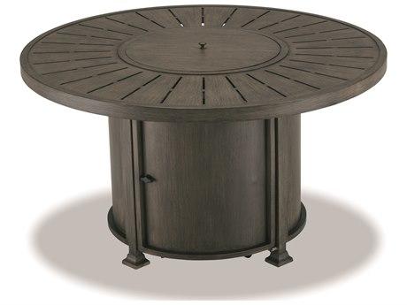 Cast Classics Solaire Cast Aluminum 48 Round LP Propane Fire Pit Table CC6250048M