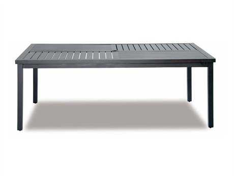 Cast Classics Kingsport Cast Aluminum 40 x 29 Rectangular Coffee Table