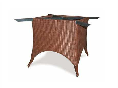 Cast Classics Setai Table Wicker Base Dia. 37.4 x 26.8H