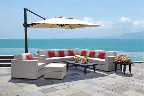 Cast Classics Harbor Island Cast Aluminum Lounge Cushion Set