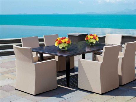 Cast Classics Harbor Island Cast Aluminum Dining Cushion Set