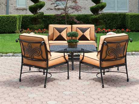 Cast Classics Monte Cristo Cast Aluminum Lounge Cushion Set