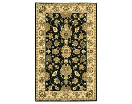 Chandra Adonia Black Area Rug