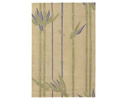 Chandra Alfred Shaheen Rectangular Green Area Rug