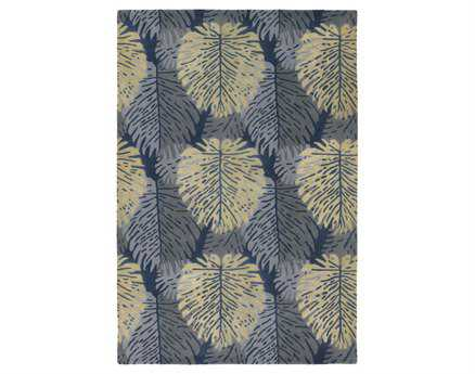 Chandra Alfred Shaheen Rectangular Gray Area Rug