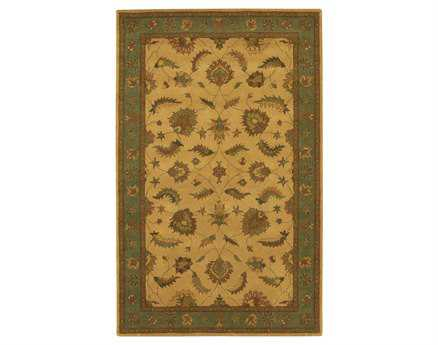 Chandra Avani Rectangular Beige Area Rug