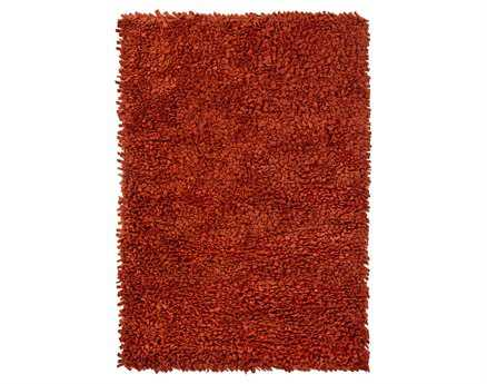Chandra Azzura Rectangular Red Area Rug