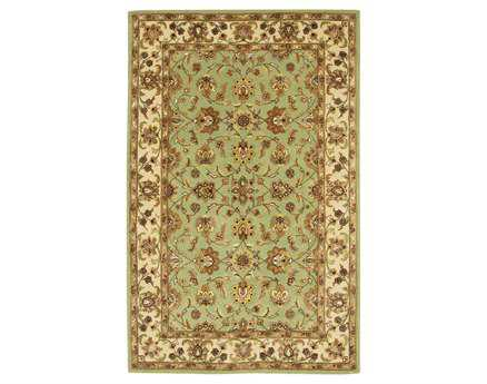 Chandra Bliss Green Area Rug