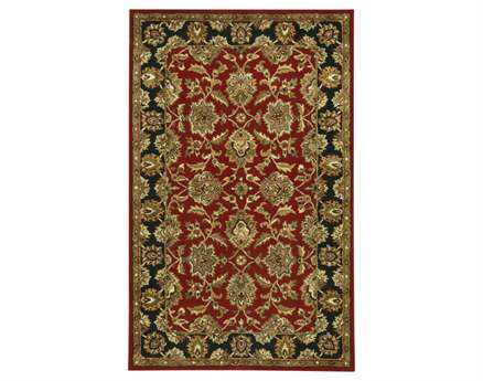 Chandra Bliss Red Area Rug